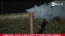 Arriva la fumata bianca: Habemus Papam