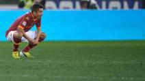 Il colpo di tacco di Marquinhos spiazza il difensore del Milan