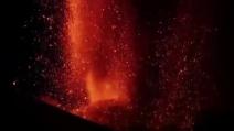 Spettacolare eruzione dell'Etna - 16 marzo 2013