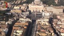 L'insediamento di Papa Francesco visto dall'elicottero