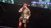 """Loredana Bertè' in un concerto live canta """"Dedicato"""""""