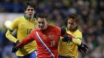 Brasile-Russia 1-1 Amichevole 25/03/2013