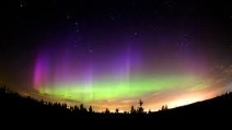 La magnifica aurora boreale del 17 marzo 2013