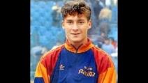 L'esordio di Francesco Totti in serie a