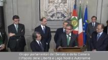 """Maroni (Lega): """"Disponibili a sostenere governo politico, ma non governo tecnico"""""""