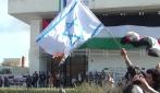 Morte a Israele e a fuoco la sua bandiera