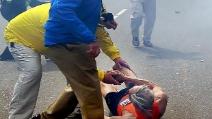 Boston: il 78enne della foto simbolo travolto dall'onda d'urto