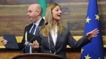 """Roberta Lombardi: """"Napolitano? E' giusto che vada a fare il nonno"""""""