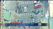 Due bombe esplodono durante la maratona di Boston