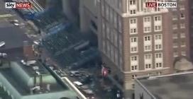 Esplosioni alla maratona di Boston, le immagini dall'alto