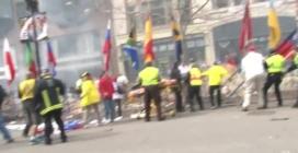 Maratona di Boston: i drammatici attimi dell'esplosione
