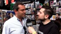 Il sindaco De Magistris al Napoli Comicon 2013