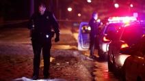 La sparatoria tra la polizia ed un sospettato dell'attentato di Boston