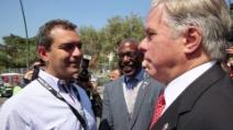 America's Cup: De Magistris incontra l'ambasciatore Thorne