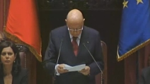 """Napolitano: """"La mia rielezione è scelta legittima, ma eccezionale"""""""