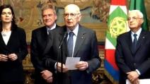 Quirinale: Il giuramento di Giorgio Napolitano