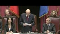Napolitano: Bene la rete ma alla democrazia servono partiti