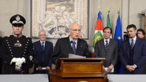 "Napolitano stringe i tempi: ""Governo in pochissime ore"""