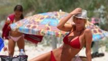Alessia Marcuzzi bellissima in bikini
