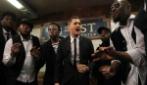 Michael Bublé canta nella metropolitana di New York