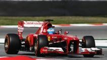 Il sorpasso di Alonso ai danni di Rosberg