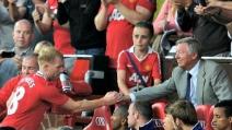 Il gol di Paul Scholes al Barcellona Champions 2007/2008