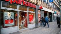 Primo Maggio 2013 a Berlino: alcuni scontri tra polizia e manifestanti