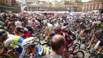 La partenza del Giro d'Italia a Napoli