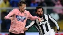 Juventus-Palermo, il finale della partita, Juve campione d'Italia