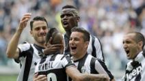 La Juventus si prepara alla sfilata per festeggiare lo Scudetto