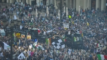 Strade di Torino invase dai tifosi bianconeri