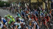 Giro d'Italia 2013 (3a Tappa) ripresa da Piano di Sorrento, frazione Trinità (Parte 2)