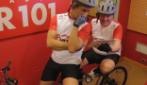 Dini & Lester al Giro d'Italia - Drive in