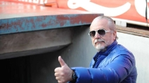 """De Laurentiis ai tifosi: """"Cavani? Se arriva qualcuno che paga la clausola non possiamo dire di no"""""""