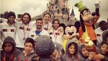 A Disneyland il Psg di Ibra e Lavezzi gioca la partita dei sogni