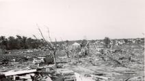 """Tornado in Oklahoma, donna """"piange"""" il suo cane che poi spunta dalle macerie"""