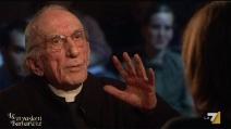 """Don Andrea Gallo a Le Invasioni Barbariche: """"L'omosessualità è un dono di Dio"""""""