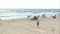 Frequenata anche durante i combattimenti, ecco la spiaggia di Gaza City