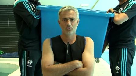 Jose Mourinho e l'Ice Bucket Challenge