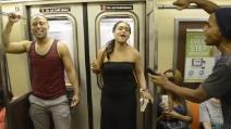 New York, lo spettacolo è in metropolitana