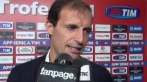 """Massimiliano Allegri: """"Il campionato sarà duro, emozionato per l'incontro con i miei ex giocatori!"""""""