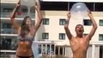 L'Ice Bucket Challenge di Moreno: nomina Panariello e Clementino