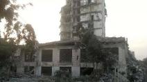 Gaza, distrutto l'Italian Mall dall'aviazione israeliana
