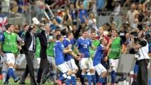 Lorenzo Insigne, fantastico gol in Inghilterra-Italia 0-1