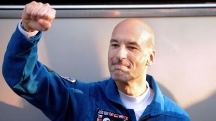 L'emozione di Luca Parmitano all'arrivo sulla ISS