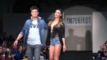 Anche Melita Toniolo e Francesco Facchinetti per la sfilata di Belen Rodriguez