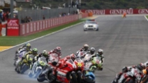 Rossi e Bautista: l'incidente al GP di Valencia nel 2011