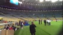 Il nuovo stadio Maracanã - dietro le quinte