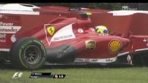 Qualifiche GP Canada 2013: nuovo incidente per Felipe Massa