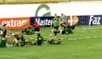 Hernanes insegna passi di Capoeira a Neymar e Marcelo